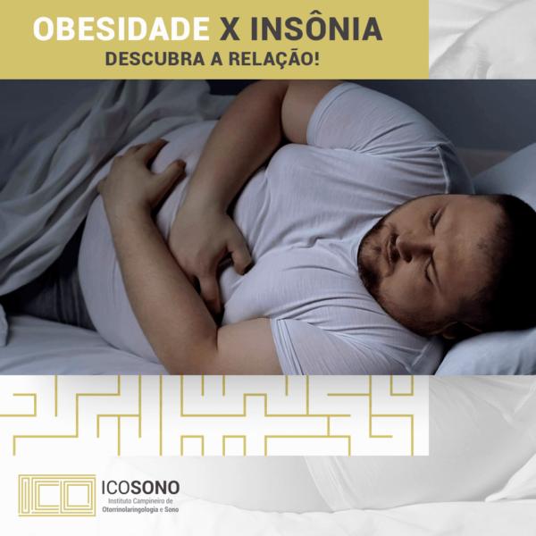 Obesidade e Insônia: Descubra a Relação! - ICOSONO Instituto Campineiro de Otorrinolaringologia e Sono