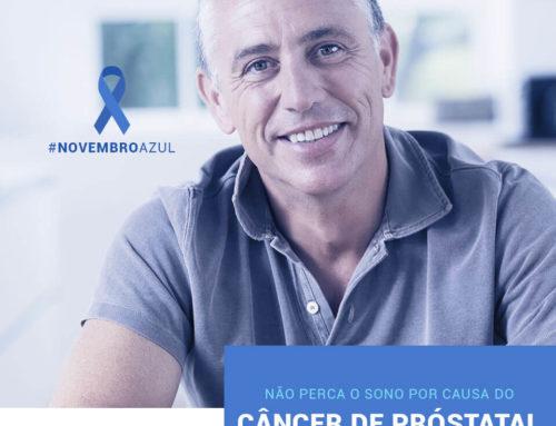 Dormir pouco aumenta risco de Câncer de Próstata