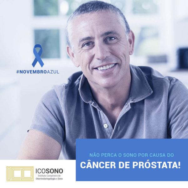 Dormir Pouco Aumenta Risco de Câncer de Próstata - ICOSONO Instituto Campineiro de Otorrinolaringologia e Sono