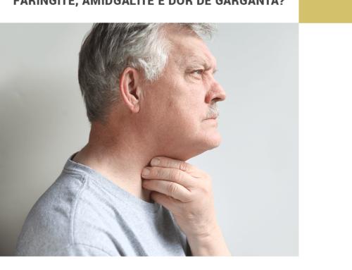 Qual a diferença entre Faringite e Amigdalite?