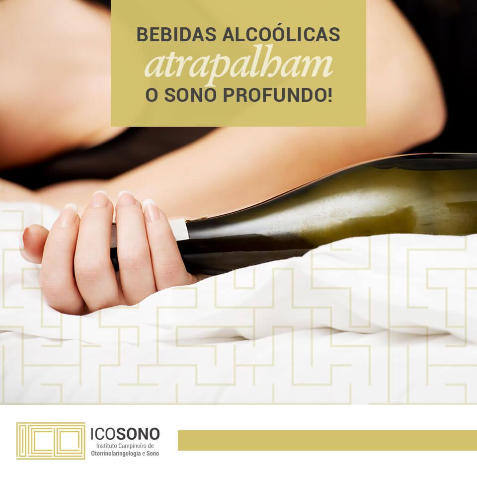 Bebidas Alcoólicas Atrapalham o Sono Profundo! - ICOSONO Instituto Campineiro de Otorrinolaringologia e Sono