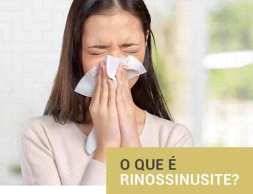 O que é Rinossinusite?