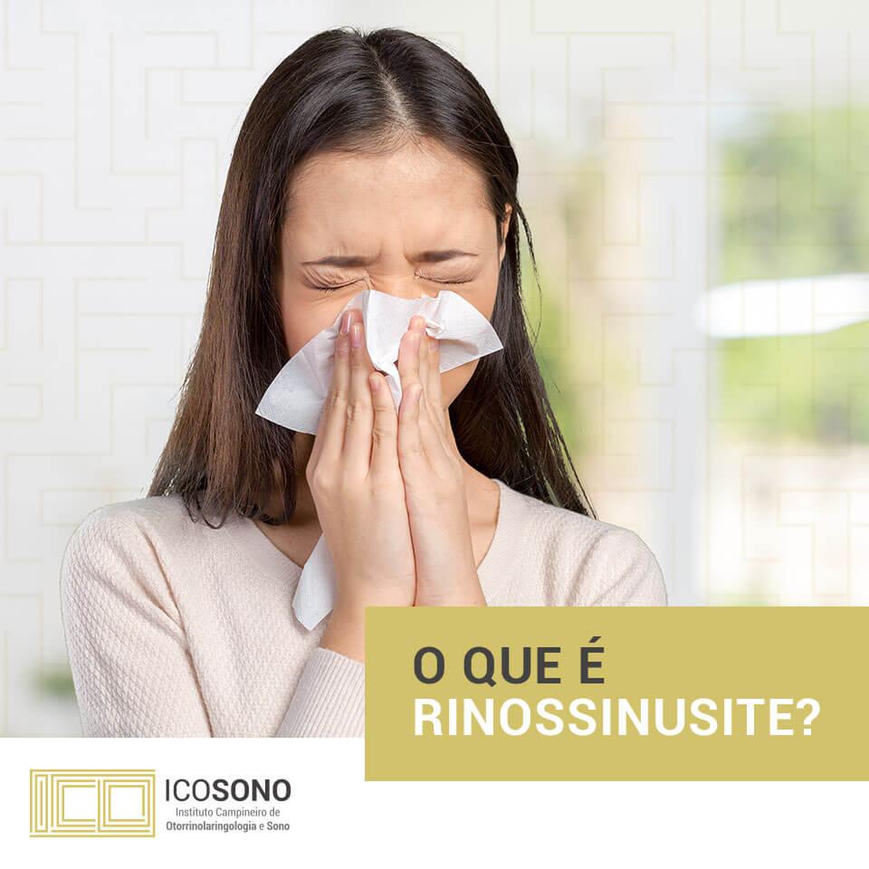 O que é Rinossinusite? - ICOSONO Instituto Campineiro de Otorrinolaringologia e Sono