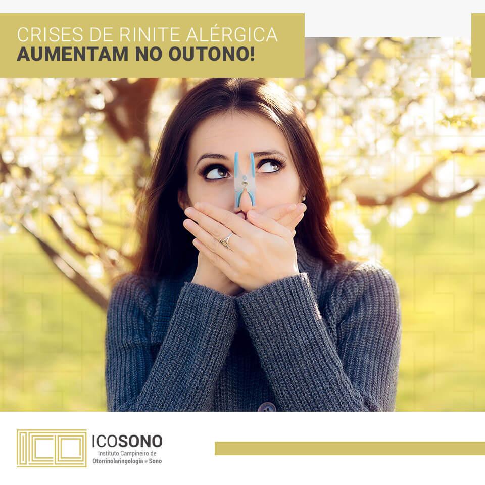 Crises de Rinite Alérgica Aumentam no Outono! - ICOSONO Instituto Campineiro de Otorrinolaringologia e Sono