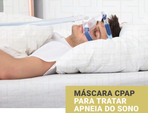 Máscara CPAP Para Tratar Apneia do Sono