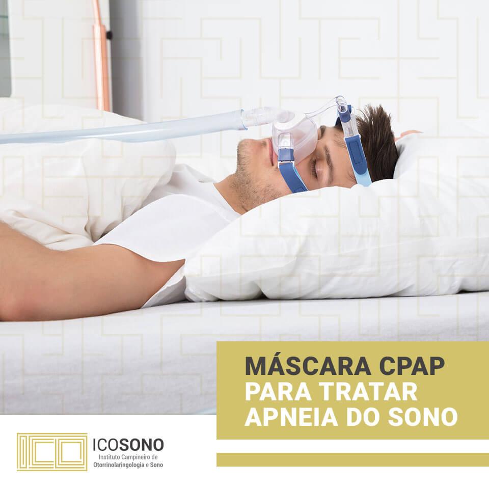Máscara CPAP Para Tratar Apneia do Sono - ICOSONO Instituto Campineiro de Otorrinolaringologia e Sono