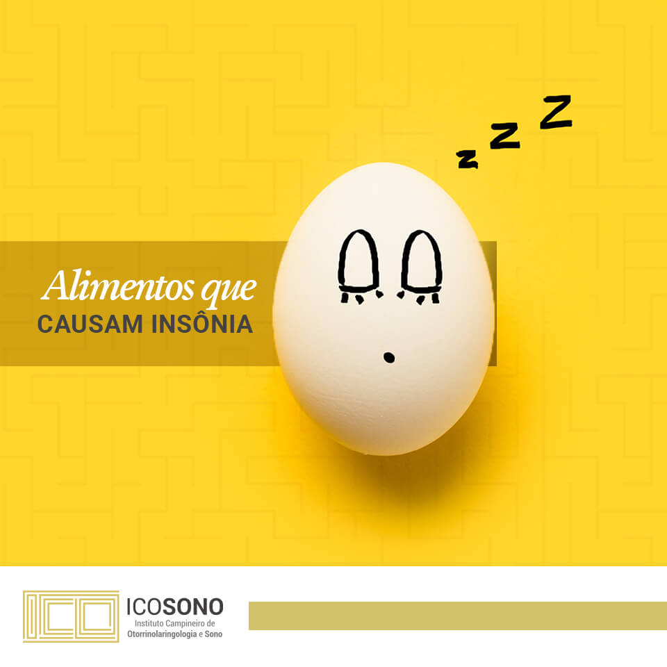 Vilões do Sono: Alimentos que Causam Insônia - ICOSONO Instituto Campineiro de Otorrinolaringologia e Sono